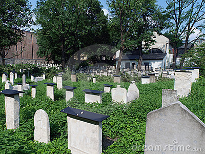 The Remuh  - Jewish Cemetery in Krakow,