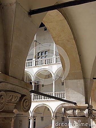 Renaissance arcades