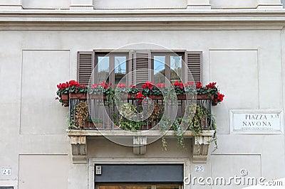 Renaissance balcony