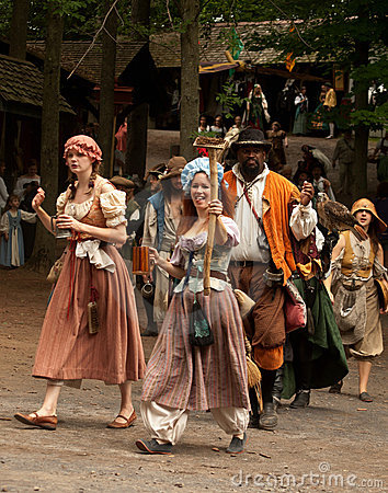 Renaissance fair Editorial Stock Image
