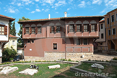 Renaissance House Of Old Plovdiv, Bulgaria