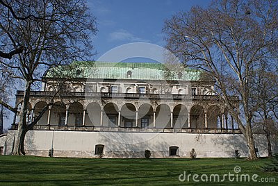 Renaissance Palace Of Qeen Ann Royalty Free Stock Photos - Image: 24329758