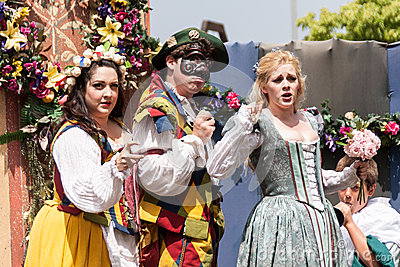 Renaissance Pleasure Faire Editorial Stock Photo