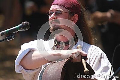Renaissance Singer Editorial Stock Image