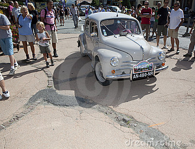 Renault 4 CV Editorial Stock Image