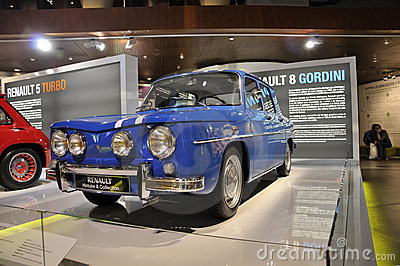Renault 8 Gordini Editorial Image