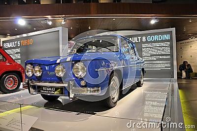 Renault 8 Gordini Editorial Image