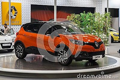 Renault Capture Editorial Stock Photo