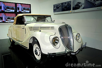 RENAULT CLASSIC VIVA GRAND SPORT-1935 CLASSIC CAR Editorial Stock Photo