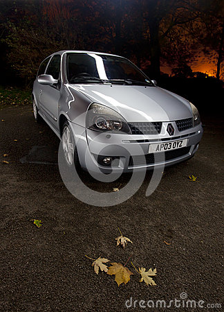 Renault clio sport Editorial Photography