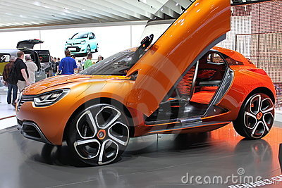 Renault concept car Editorial Stock Photo
