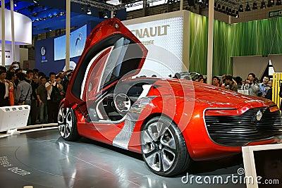 Renault dezir Editorial Photo