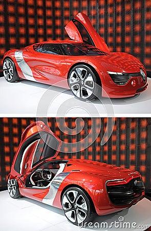 Renault Dezir on display in showroom Editorial Image