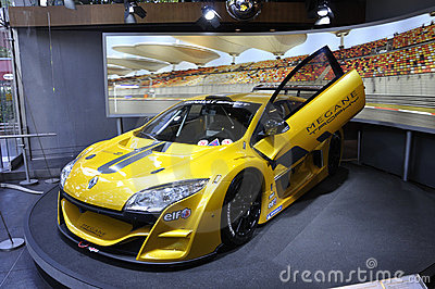Renault Megane Trophy Editorial Stock Image