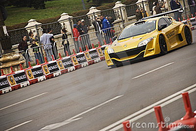 Renault Road Show Bucharest Editorial Photo