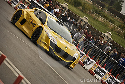 Renault Road Show Bucharest Megane Trophy Demo Editorial Stock Photo