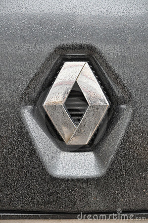 Renault symbol Editorial Photo