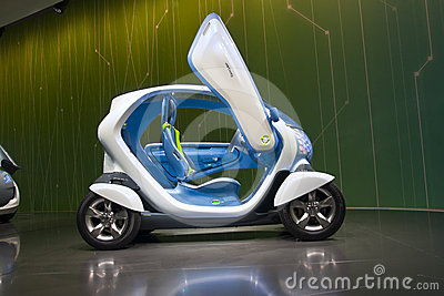 Renault Twizy Editorial Photo