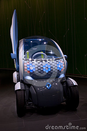 Renault Twizy Editorial Image