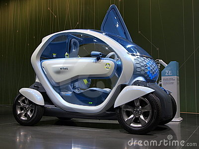 Renault Twizy Concept Car Editorial Image