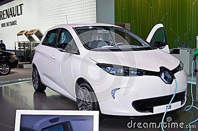 Renault Zoe Editorial Image