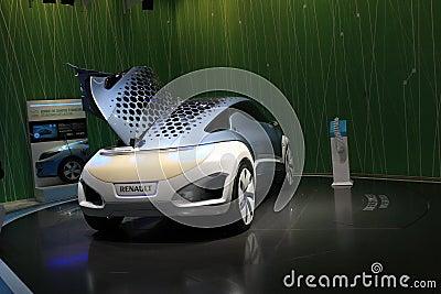 Renault Zoe ZE Concept Editorial Stock Image