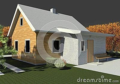 Render: bungalow