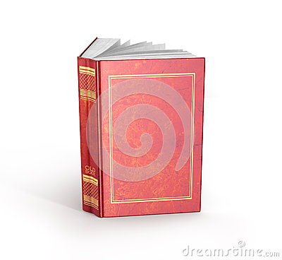 Free Render Of One Open Book Royalty Free Stock Photo - 65416485