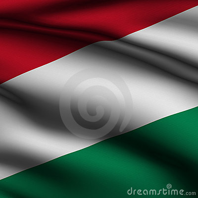 Rendered Hungarian Square Flag