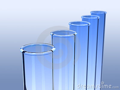 Rendered image of  test tube.
