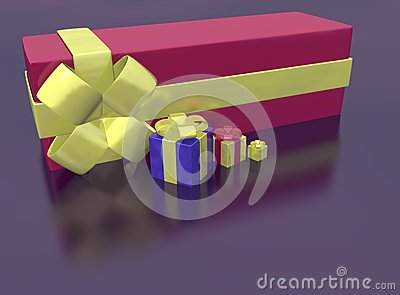 Rendered of presents