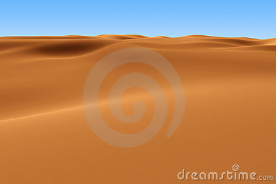 Rendered Sahara