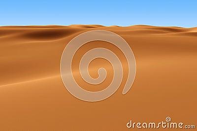 Rendered Sahara