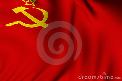 Rendered Soviet Flag