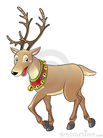 Rendier voor Kerstmis