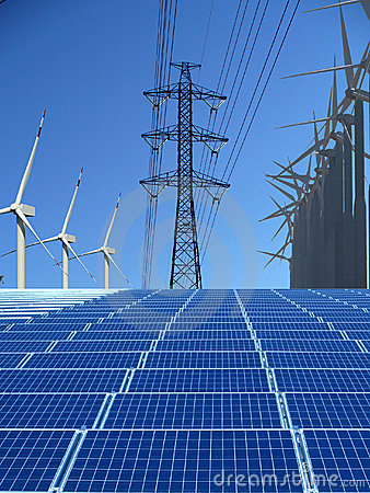 Free Renewable Energy Stock Image - 12275331
