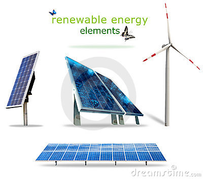 Renewable energy elements