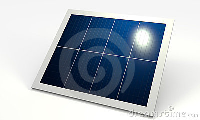 Renewable energy, solar panel