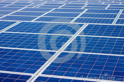 Renewable Energy Solar Panels Endless Background