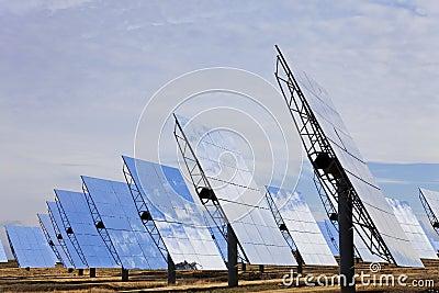 Renewable Green Energy Solar Mirror Panels
