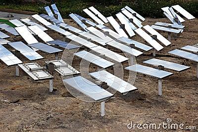 Renewable, sun-power plant