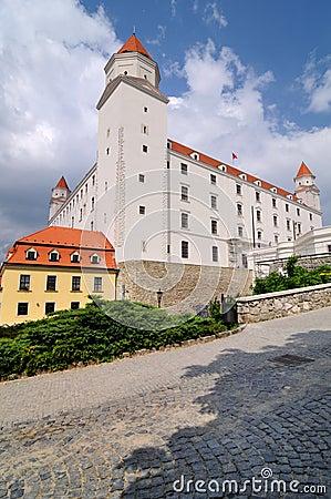 Renewed Bratislava castle, Slovakia