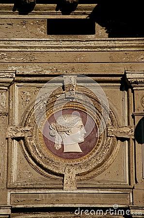 Rennaissance architectural detail