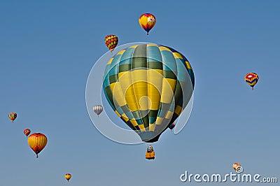 Reno Hot Air Balloon 2011 Editorial Photography