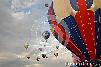 Reno Hot Air Balloon Race September 12 2009 Editorial Photography