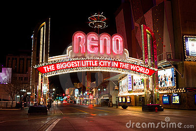 Reno Nevada Editorial Stock Image