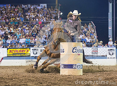 Reno Rodeo Editorial Stock Photo