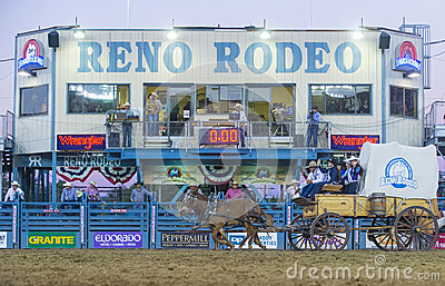 Reno Rodeo Editorial Photo