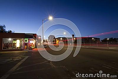 Reno s Midtown District Editorial Stock Photo