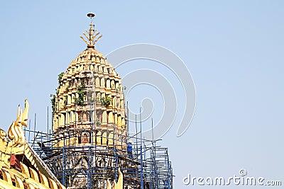 Renovate pagoda